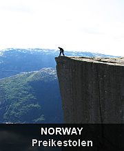 Highlights - Norway - Preikestolen