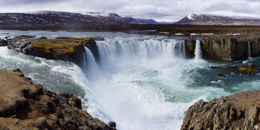 Iceland - Godafoss - Waterfall