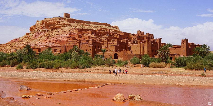 Morocco - Ait Ben Haddou - Red River