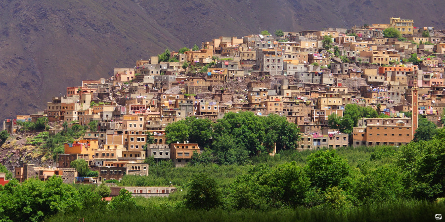 Morocco - Jebl Toubkal - Village of Armed