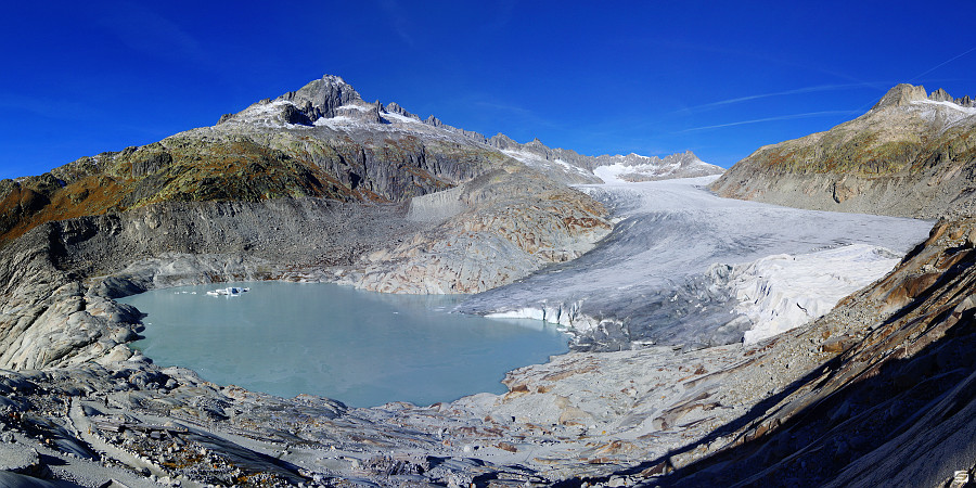 Switzerland - Rhonegletscher - Melting Ice