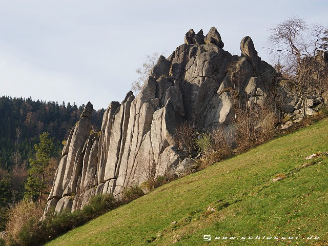 Germany Black Forest (Spring) - Orgelfelsen - Picture
